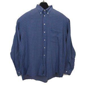 VIntage Gitman Brothers Plaid Cotton Hipster Shirt